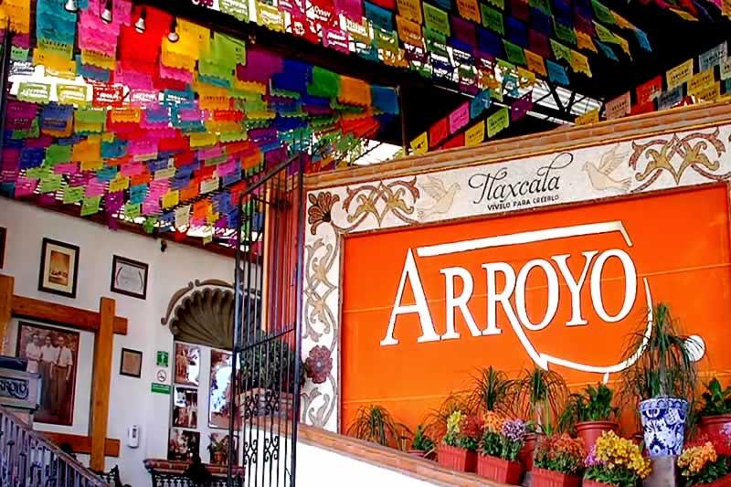 Telefono restaurante arroyo mexico